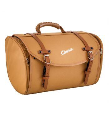 """Borsa/valigia SIP """"Classic"""" marrone, grande, per portapacchi Vespa/Lambretta"""