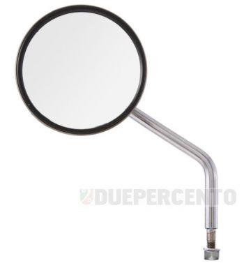 Specchio retrovisore sinistro BUMM rotondo, Ø 110 mm, L=140 mm per Vespa