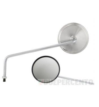 Specchio retrovisore sinistro BUMM rotondo, Ø 130 mm, L=280mm per Vespa