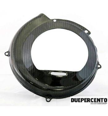 Coprivolano TOMAS COMPOSITI aperto in fibra di carbonio per Vespa 50/ 50 Special/ ET3/ Primavera/ PK50-125/ S/ XL/ XL2/ ETS