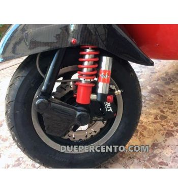 Convogliatore aria in CARBONIO, TOMAS COMPOSITI per freno anteriore ZIP SP, ET2, Quartz
