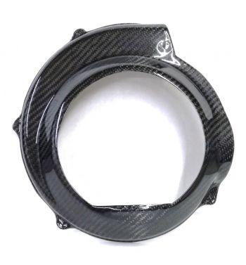 Coprivolano aperto TOMAS COMPOSITI in fibra di carbonio per Vespa PX125-200/ PE200/ TS/ Sprint/ Rally/ GTR