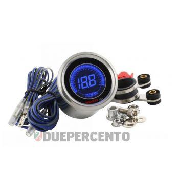 Contagiri analogico KOSO digitale BLACK LCD - D 48MM - 19.900 Rpm