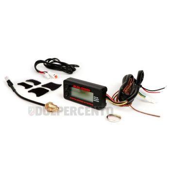 Contagiri, termometro digitale MALOSSI Ø 60x30 mm, motori 2T e 4T