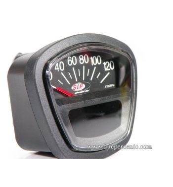 Contachilometri e contagiri SIP 2.0 per Lambretta DL/GP/LI /SX/TV - 14.000 rpm quadrante nero