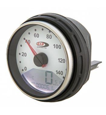 Contachilometri e contagiri SIP 2.0 per Vespa PK 50-125/ S/ Automatica, 14.000rpm, colore quadrante: bianco