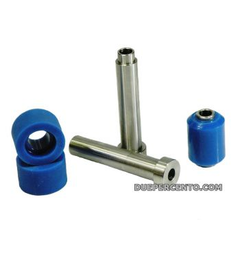 Silent block blu FABBRI Racing motore per Vespa 50/ 50 Special/ ET3/ Primavera/ PK50-125 carter quattrini