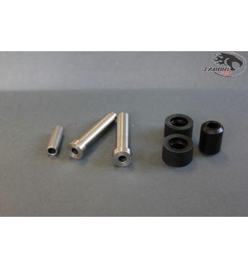 Silent block neri FABBRI Racing motore per Vespa 50/ 50 Special/ ET3/ Primavera/ PK50-125 carter quattrini