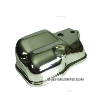 Coperchio scatola carburatore con miscelatore CROMATO per Vespa PX125-200E/Rally200/P200E/Lusso/`98/MY/`11/T5