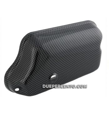 Coperchio scatola carburatore CARBON LOOK per Vespa 125 VNB-TS/GT/GTR/Rally/Sprint/P200E/PX125-200