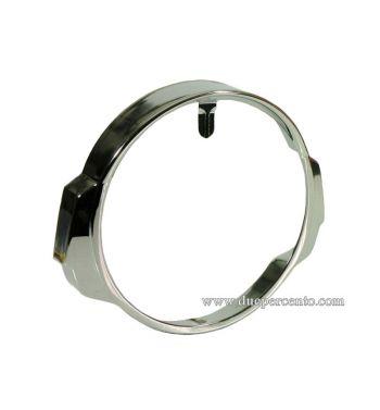 Cornice fanale cromata per Vespa PX125-200 / P200E