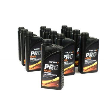 Olio sintetico per miscela BGM PRO RACE 2 - 12 flaconi