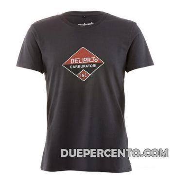 Maglietta DELLORTO - NERA LOGO CLASSICO - S