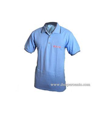 Polo ET3.IT azzurra - Taglia S
