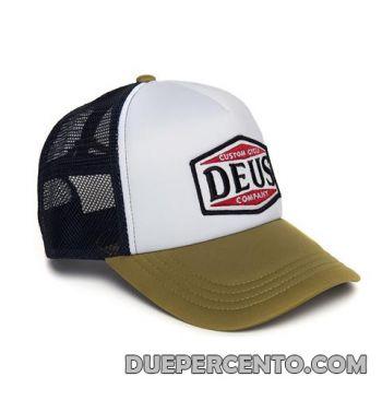 Cappello DEUS American Twin Trucker, oro