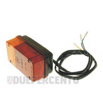 Fanale posteriore SIEM senza luce targa per APE MP 600-601, adatto anche per APE CAR FLO