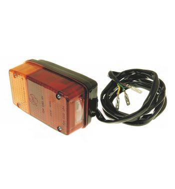 Fanale posteriore SIEM con luce targa per APE MP 600-601, adatto anche per APE CAR FLO
